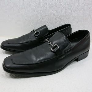 Perry Ellis Portfolio Horse Bit Leather Loafers 12